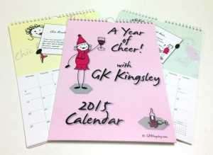 GK Kingsley Calendars by Braunston Print Northampton