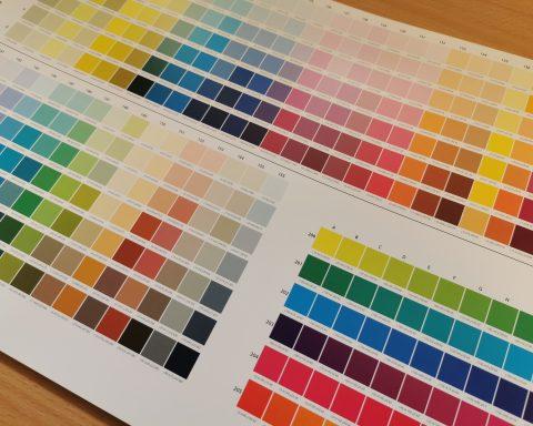 CMYK RGB & Pantone