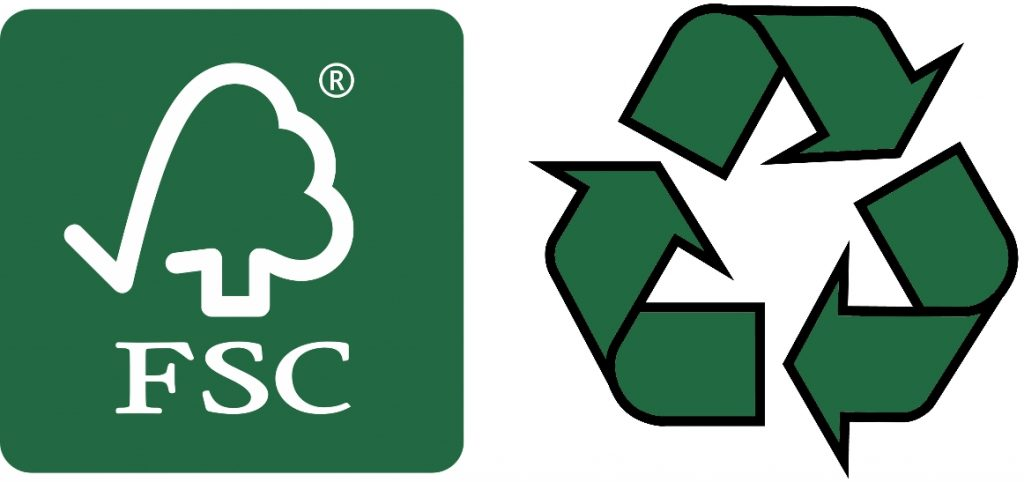 FSC and Recycled